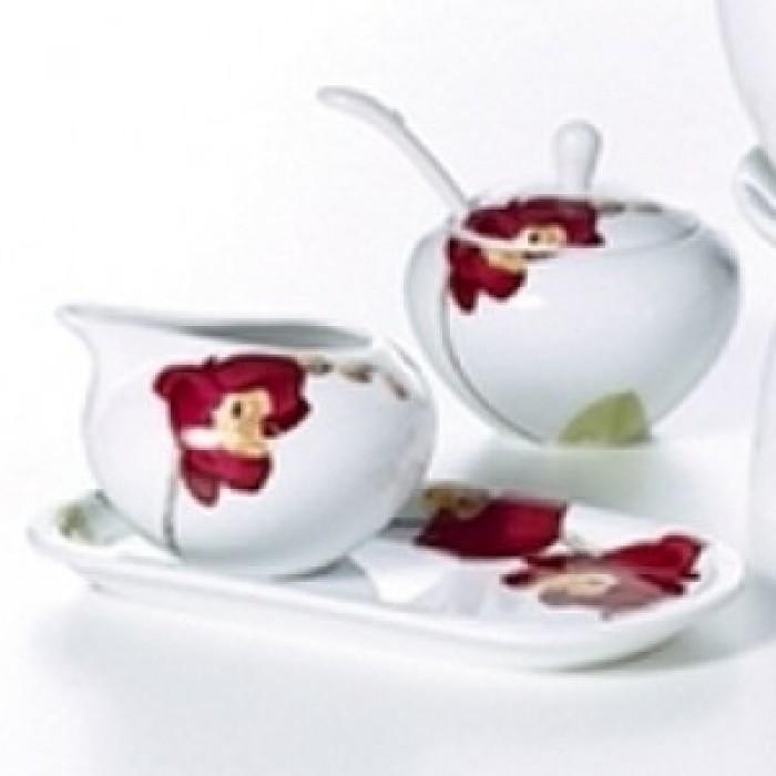 Sugar bowl + Milk jug Liliana